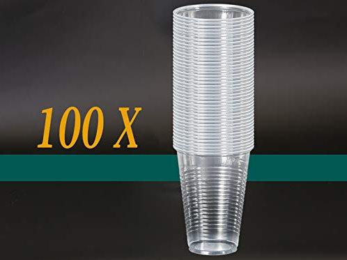 Plastikbecher 100Stk