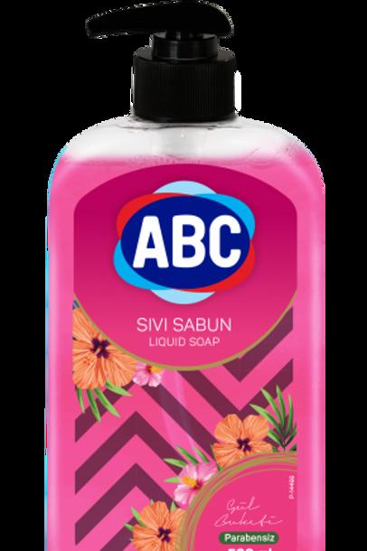 ABC Flüssigseife (Rosengeruch) 500ml
