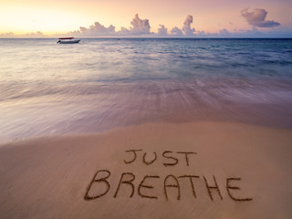 Take a mental health break, breathe deep