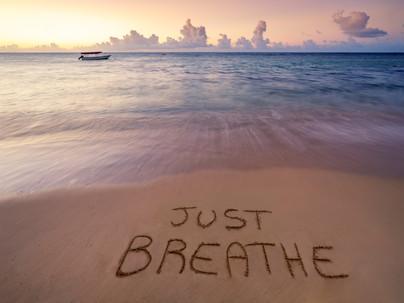Take a mental health break, breathe deep