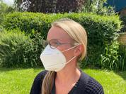 Helpful strategies to reduce discomfort when masking up