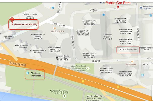 Aberdeen, HK Map