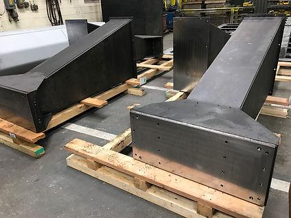 Welding and machining