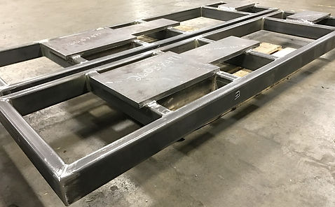 Welded base frame