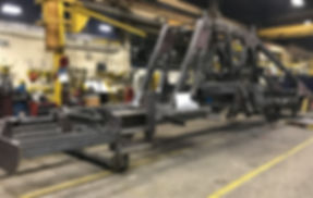 Large assembly welding