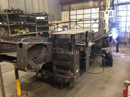 Complex welding