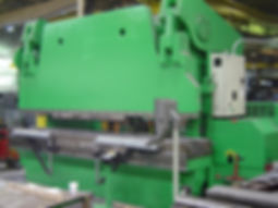 Steel bending press brake