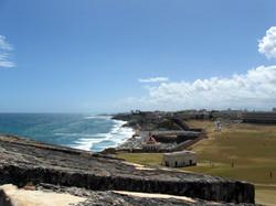 Eastern coast. San Juan, Puerto Rico