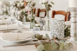 Tischdekoration