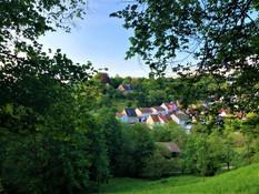 Blick auf den Wintersberg