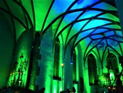 Illumination aus den Kirchenkonzerten