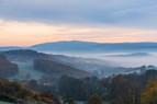 Blick von den Höfen Richtung Imsweiler ins Tal