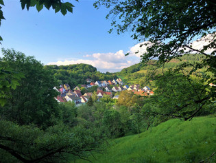Dorfansicht in Richtung Wintersberg