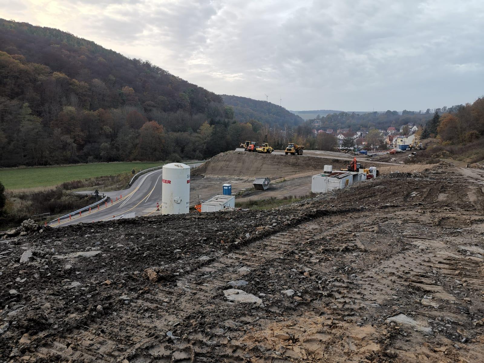 Blick Richtung Imsweiler zum Südportal