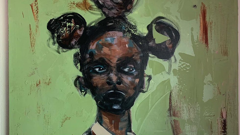 A visual reminder of the origins of humanity - my Bantu knots (Limited Edition)