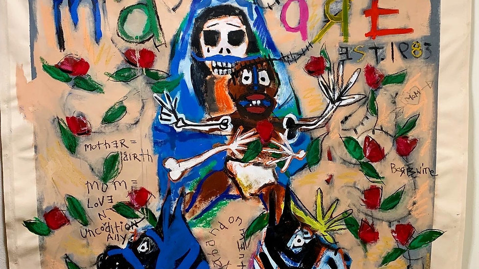 Madonna of the Red Lillies | Crack Epidemic MCMLVXXXIII A.D. 1983 A.D. | Mother