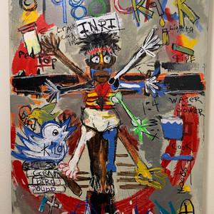 Crucifixion of a Crack Baby | Crack Epidemic Viturian Baby MCMLXXXVI