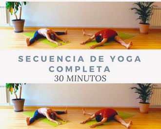 Secuencia de Yoga completa - 30 minutos.