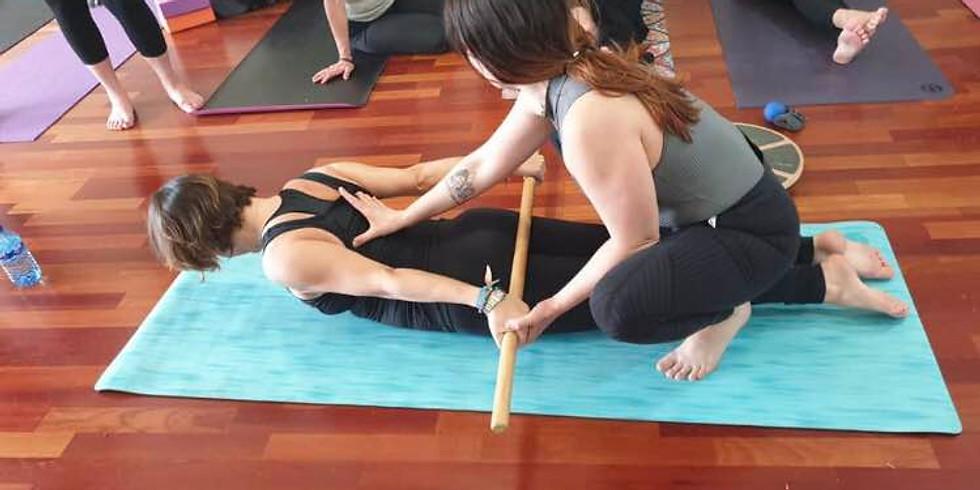 Taller: Biomecánica aplicada al Yoga por Ana Pisador