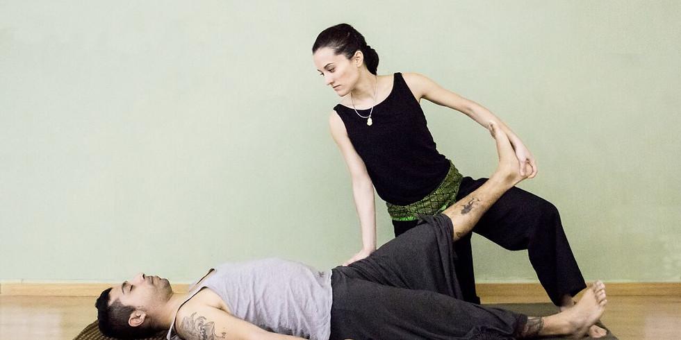 1er taller Masaje Thai: Desbloquea tus piernas