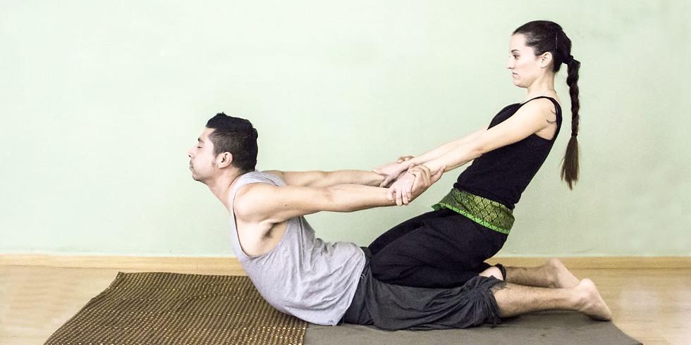 Taller Masaje Thai: Espalda & Estiramientos.