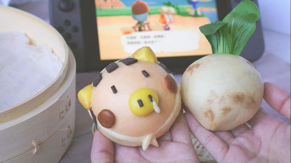 大頭菜&曹賣饅頭  Steamed Daisy Mae & Turnip Bun