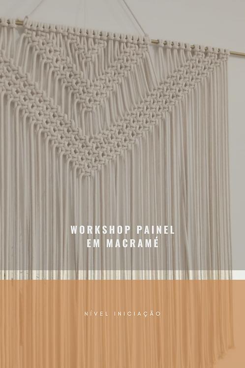 Workshop Painel em macramé