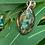 Thumbnail: Collier pendentif Marquise labradorite