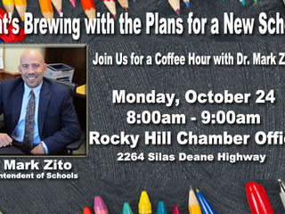 What's Brewing with the Plans for a New School? Mon, Oct 24