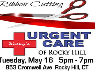 Ribbon Cutting Tuesday May 16 at Kathy's Urgent Care!  Read about Kathy's  in out Member Spo