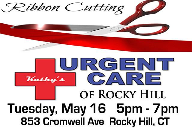 Kathy's Urgent Care Ribbon Cutting