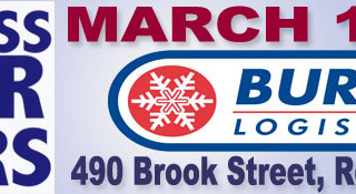 We work in the snow: A Burris Logistics Story