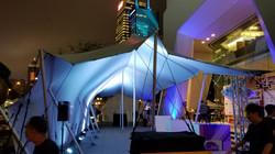16米 x 9米 天幕安裝如16米x 7米場地