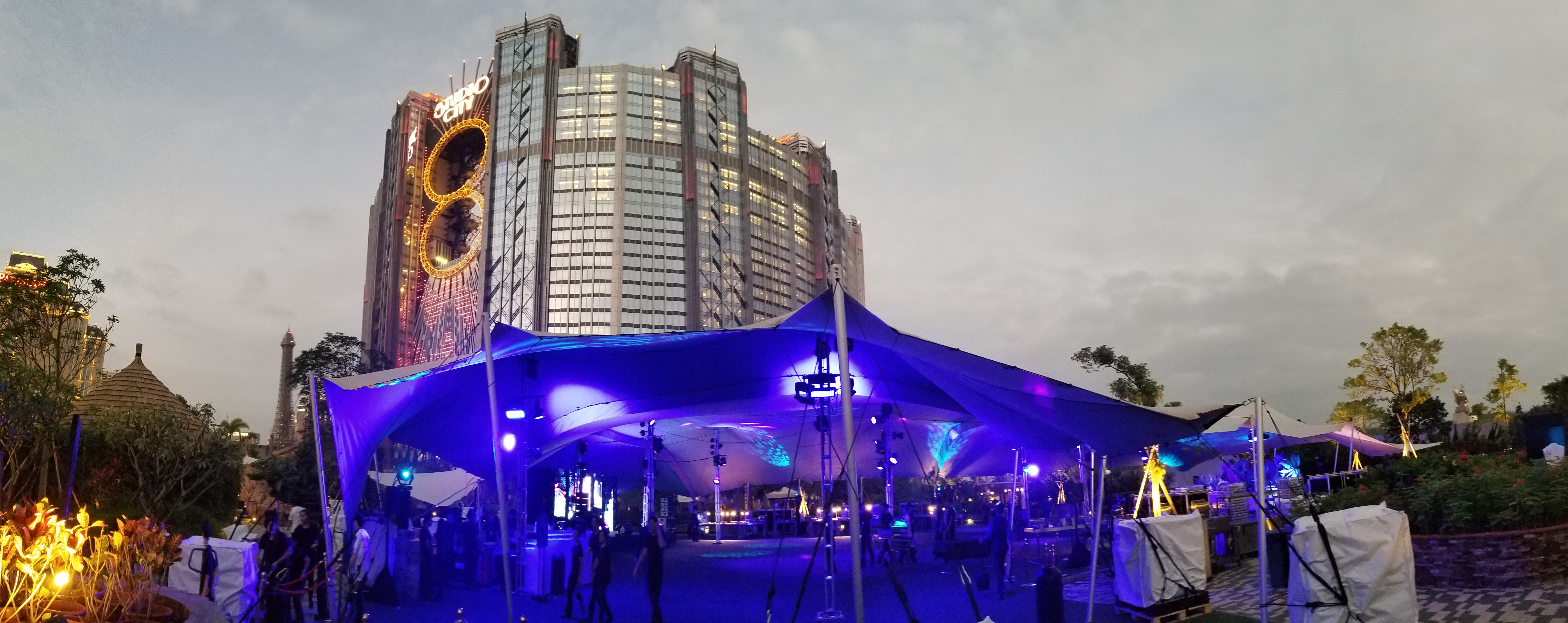 Macau_Studio City_Gala Garden_Pacha