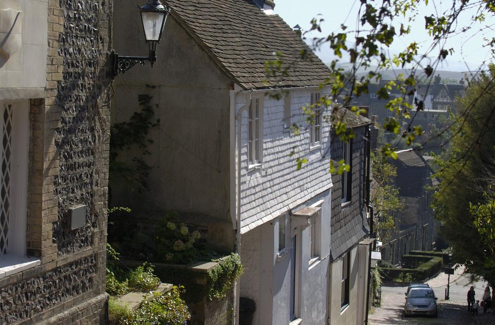 Lewes street scene