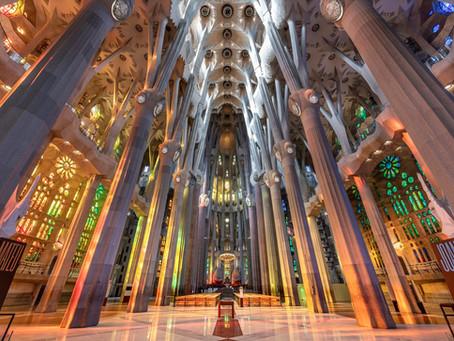 Barcelona's Towering Sandcastle