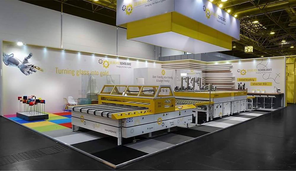 MRC-2850 Glass painting machine & GD-7000 Glass drying machine