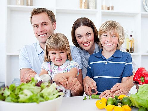 1 consulta Seguimiento Familiar Nutricional Online