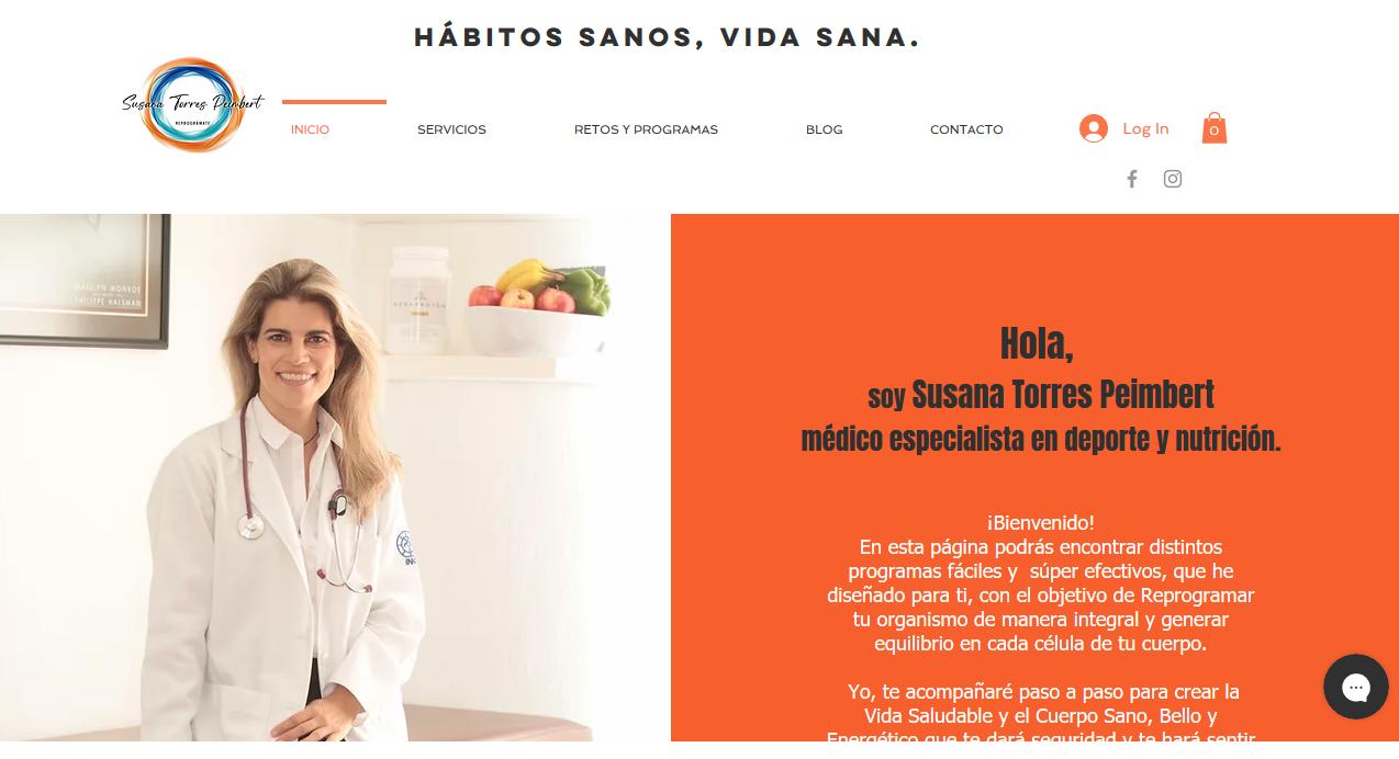 Reprogramate Susana Torres