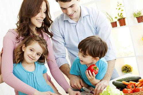 1 consulta Seguimiento Nutricional familiar Presencial