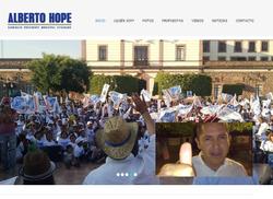Alberto Hope Candidato Presidente Mu