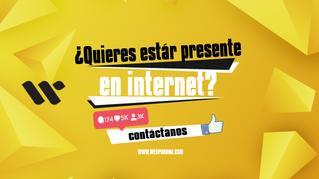 ¿Quieres estar presente en internet?