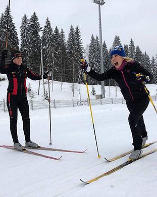 Nollasta hiihtäjäksi