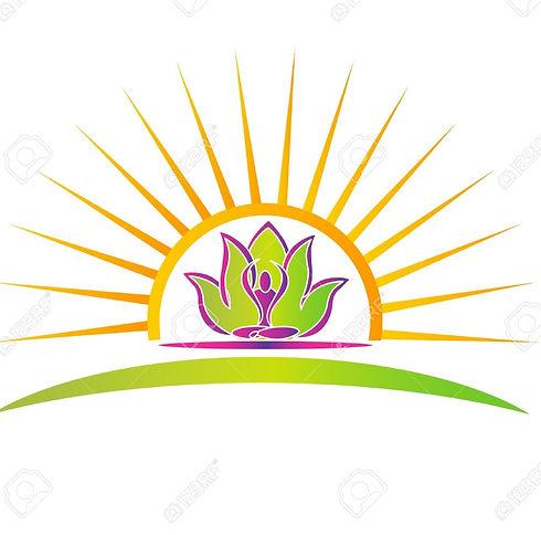 14063185-sun-lotus-and-yoga-figure-logo_