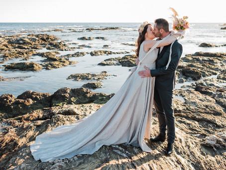 Alexandra + Sebastien | Vows renewal by the sea