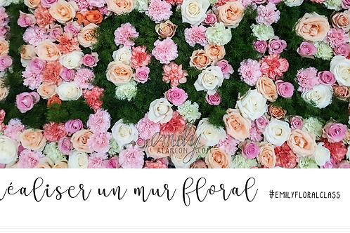 Mur floral