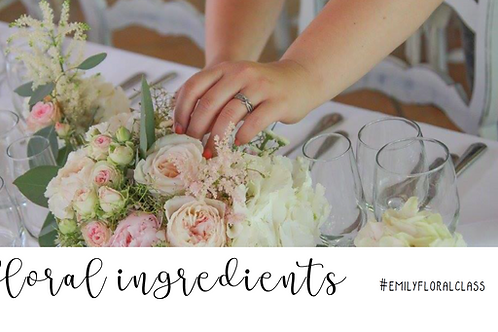 Floral ingredients 1