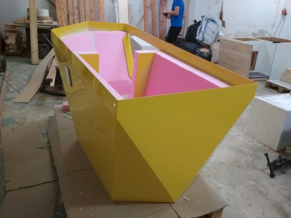 zateplená bouda, zateplení boudy, extrudovaný polystyren