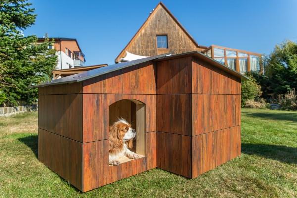 Luxusní psí bouda zateplená JESPER