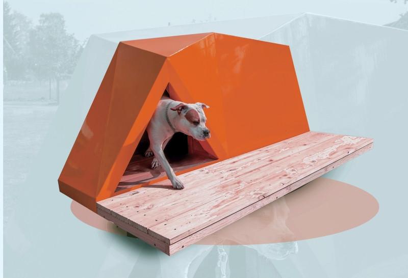 Navrhněte si vlastní design psí boudy!